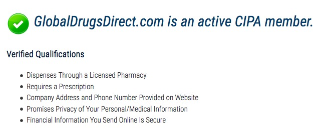 GlobalDrugsDirect.com review